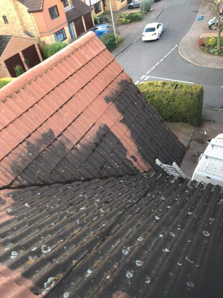 Corrugated Roof Cleaning