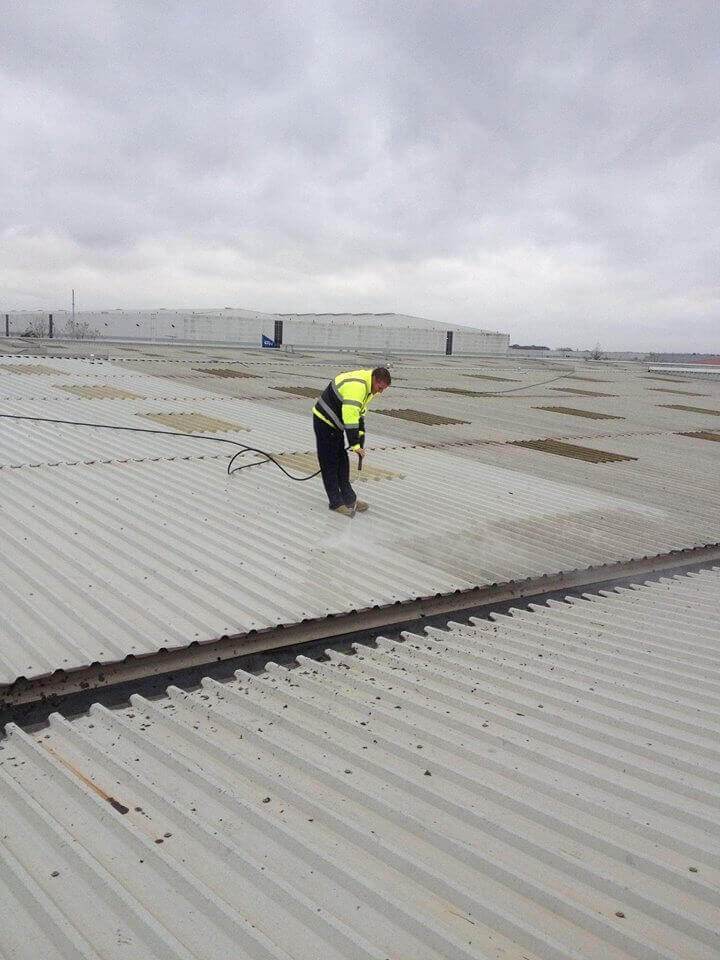 Industrial Roof Cleaning