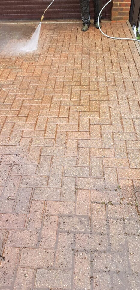 Pressure washing Driveway Burnham on Sea