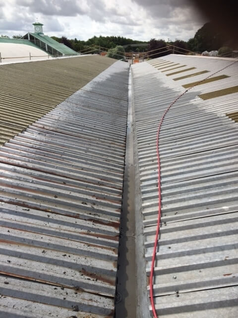 Roof Cladding Clean Oxford