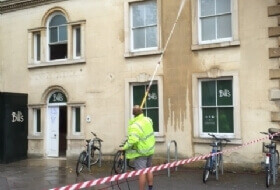 Building washdown Bedford